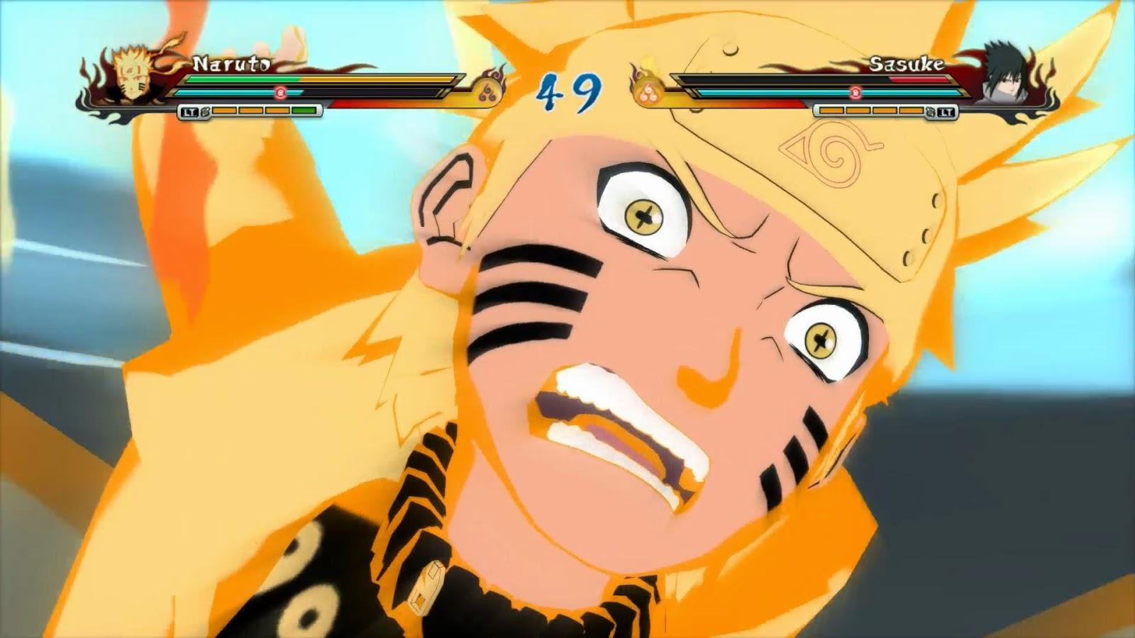 Naruto Revolution Naruto Ashura Path v3 + Sasuke Rinnegan ...