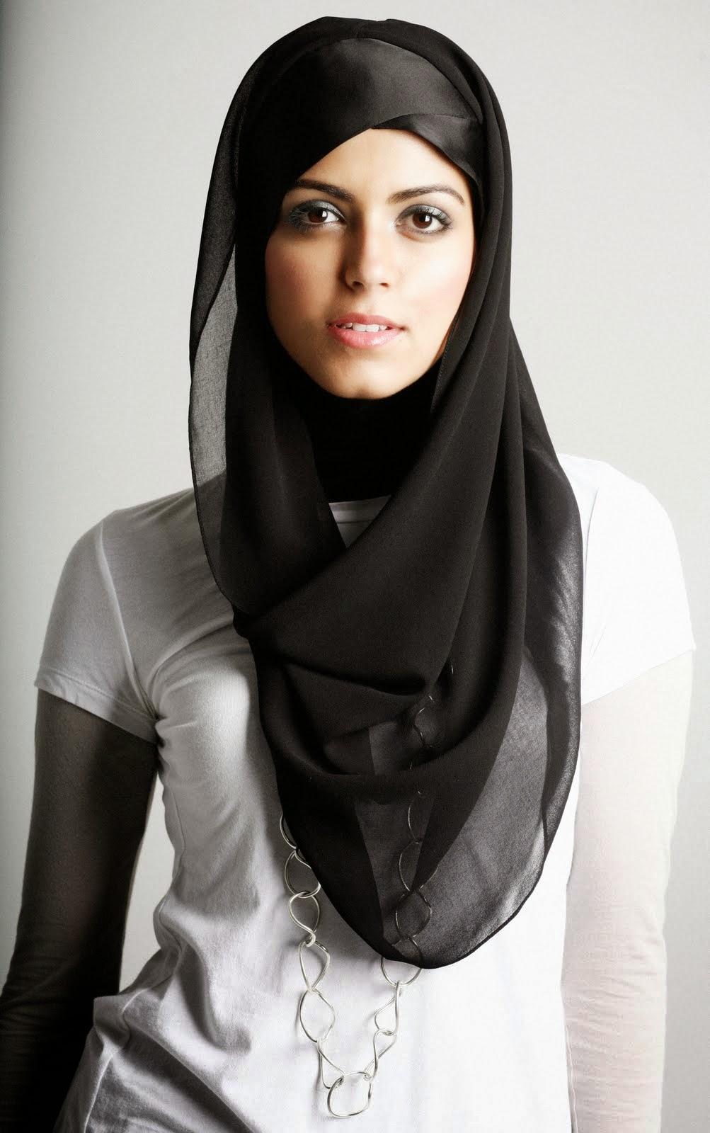 Hermosa esposa hijab árabe