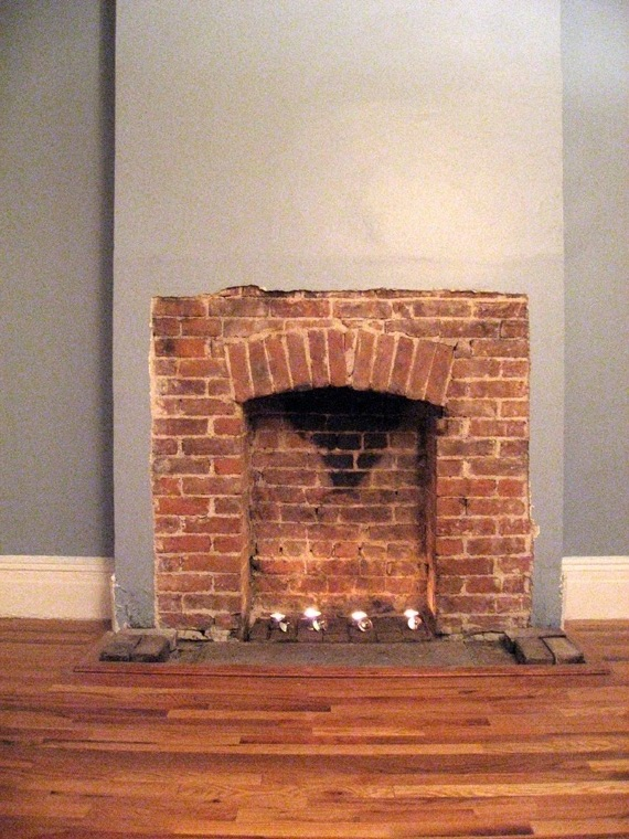 Brick Laminate Picture: Brick Fireplace Surrounds