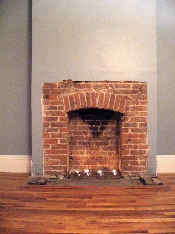Brick Laminate Picture: Brick Fireplace Surrounds