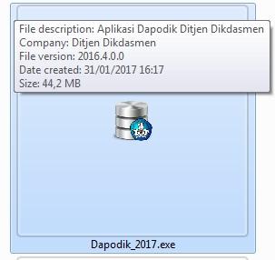 Dapodik 2017.exe