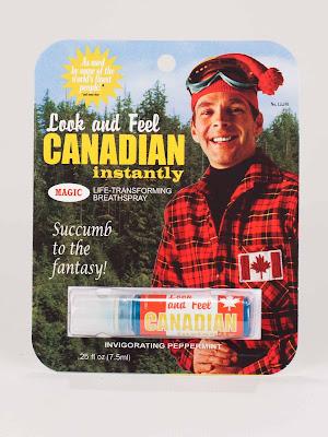 Breath spray to feel like a canadian