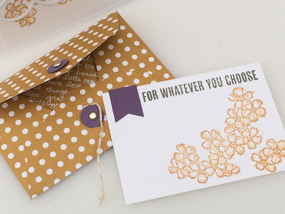 Gift card holder - for whatever you choose