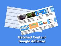 Cara Mendapatkan dan Membuat Iklan Matched Content Dari Google Adsense