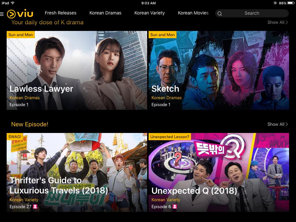 App Review: Watching My Favorite Asian Dramas and Movies on VIU app!