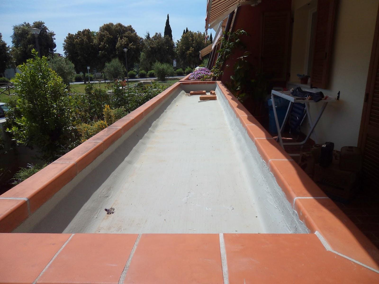 I giardini di carlo e letizia giardinetto sul terrazzo for Vasca giardino pesci