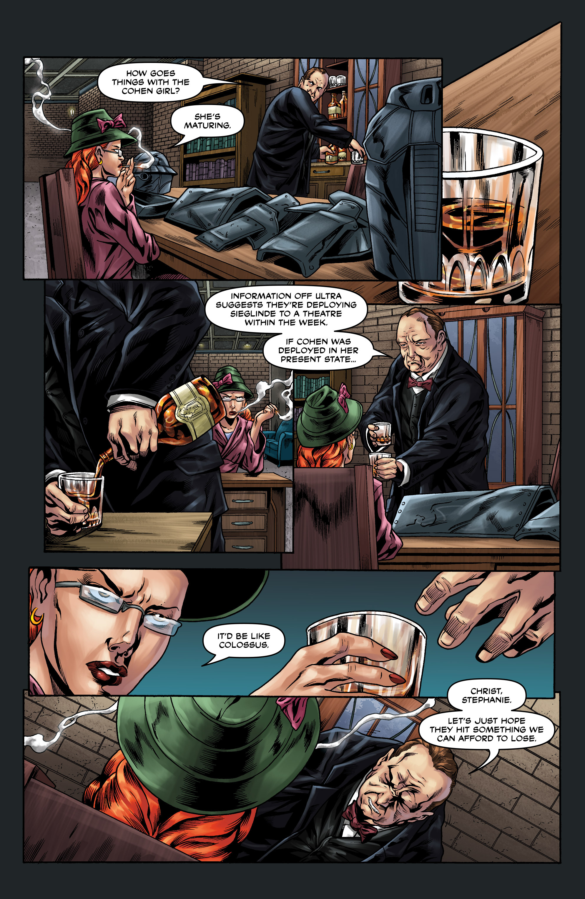 Read online Uber comic -  Issue #10 - 19