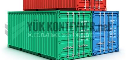 Yuvam Konteyner fabrikalarında imal edilmiş, yerli belgeli yük konteyneri