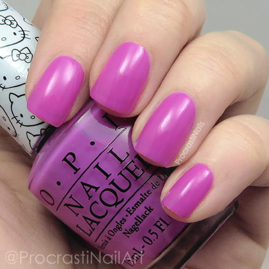 Swatch of OPI Super Cute in Pink