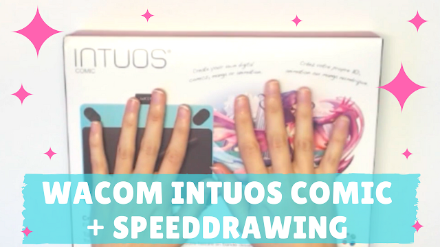 KooriStyle, Koori Style, Wacom, Intuos, Comic, Mint, Menta, Intuos comic, Tablet, Tableta, Unboxing, Test, Testing, Dibujo, Drawing, Illustration, Ilustración, MediBang, speed drawing, speed paint, cute, kawaii