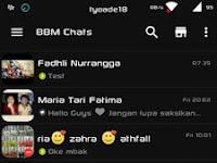 BBM Black Reborn V2.11.0.16 Apk Terbaru