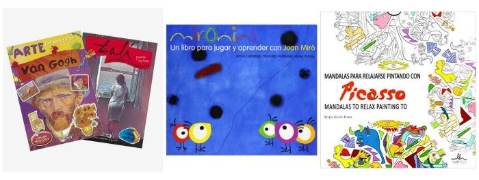 libros de actividades para acercar el arte a los niños, nuestros preferidos