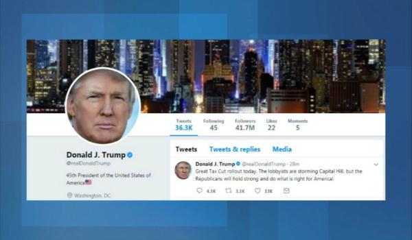 موظف في آخر يوم عمل له يتسبب في إغلاق حساب ترامب على تويتر!