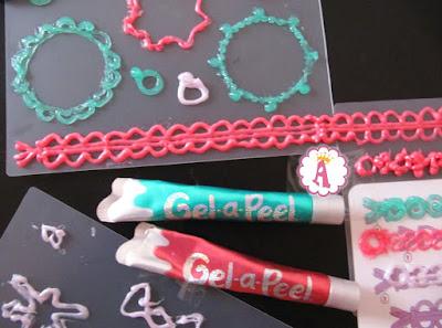 Как создавать 3d jewelry с помощью геля Gel a Peel