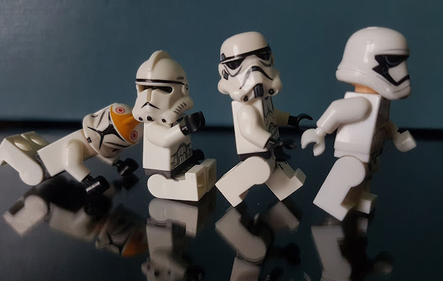 Stormtrooper Evolution lego fan art