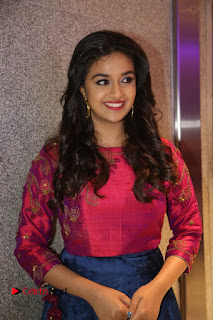 Actress Keerthi Suresh Stills at Remo Success Meet  0105.JPG