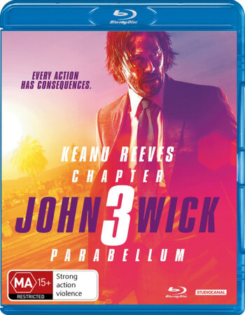 John Wick 3 (2019) English ORG 480p BluRay x264 400MB ESubs Movie Download