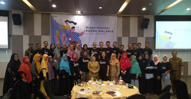 duniaindra dalam acara Blogger Kesehatan #ZeroMalaria