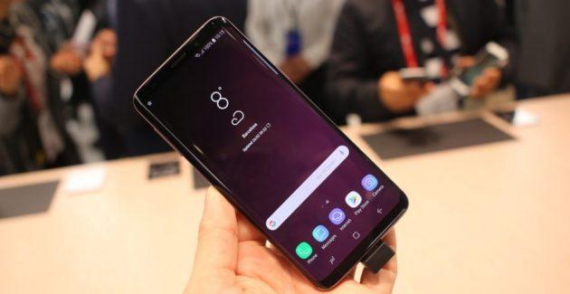 samsung galaxy s9 plus touchscreen probleme