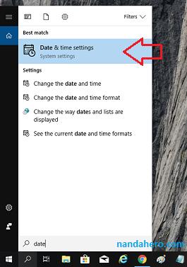 Cara Mengatur Jam dan Tanggal di Windows 10 (Memperbaiki Waktu Laptop yang Salah secara Otomatis)