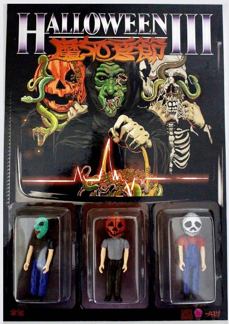 halloween iii and trick r treat sam figures