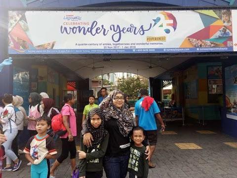 Alami Keriangan di Sunway Lagoon Sempena 25th Wonder Years!
