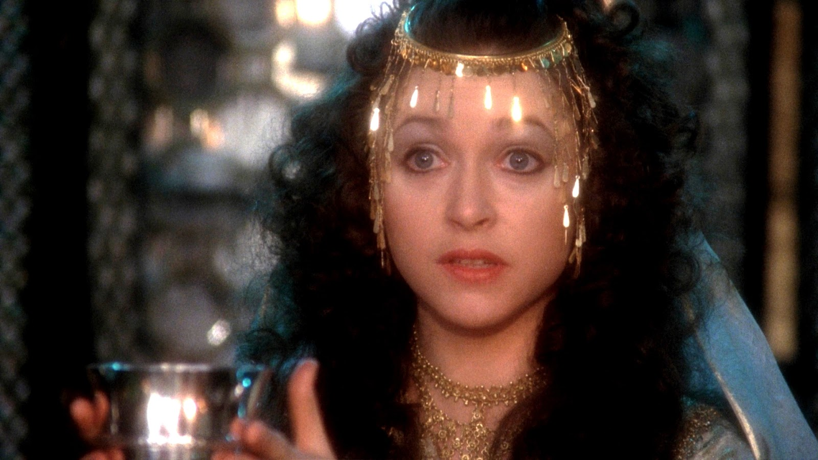 The beautiful Michal in the 1985 movie 'King David.'