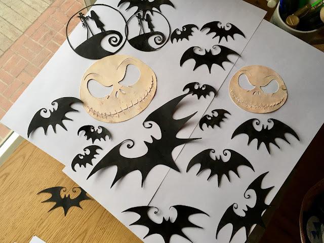 Silhouette Cameo Nightmare Before Christmas via foobella.blogspot.com