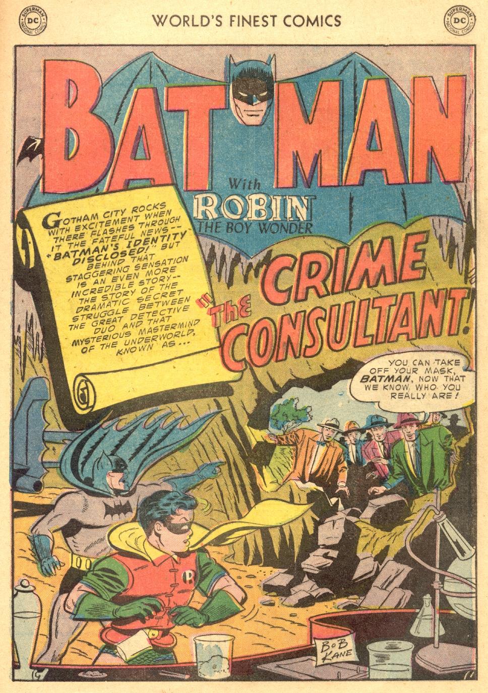 Read online World's Finest Comics comic -  Issue #70 - 55