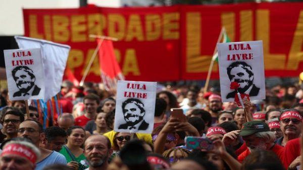 Lula desde Curitiba: Brasil es gobernada por una banda de locos