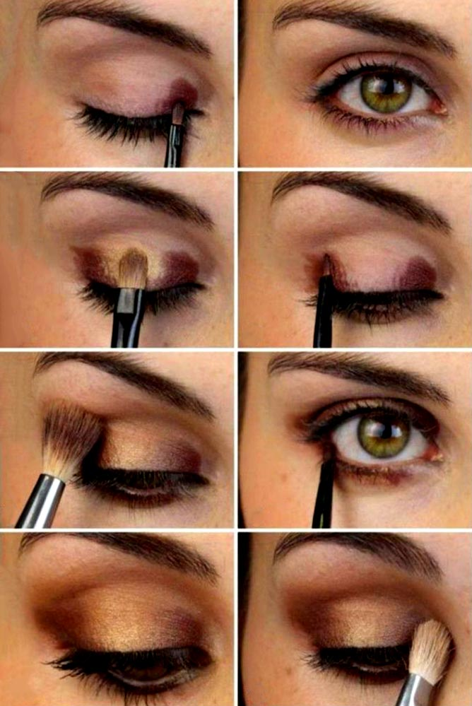 how to accentuate hazel eyes
