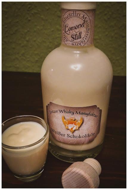Weißer Schokolikör aus der Zeitzer Whisky Manufaktur