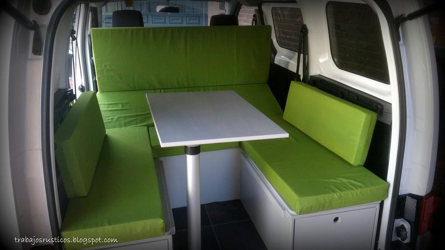 Modulo Camper Para Nissan Nv 200 Evalia # Muebles Furgoneta