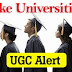 List of Fake Universities of India by UGC | Fraud Universities you must be aware of..