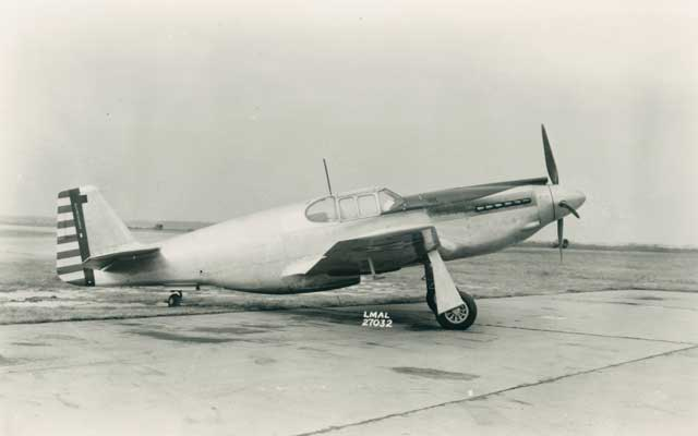 XP-51 at Langley, 29 December 1941 worldwartwo.filminspector.com