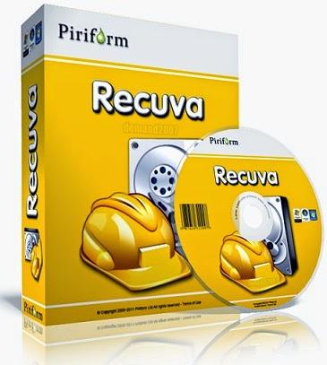برنامج ريكوفا Recuva لاسترجاع الملفات المحذوفة