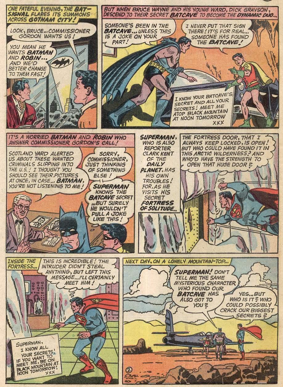 Read online World's Finest Comics comic -  Issue #142 - 4