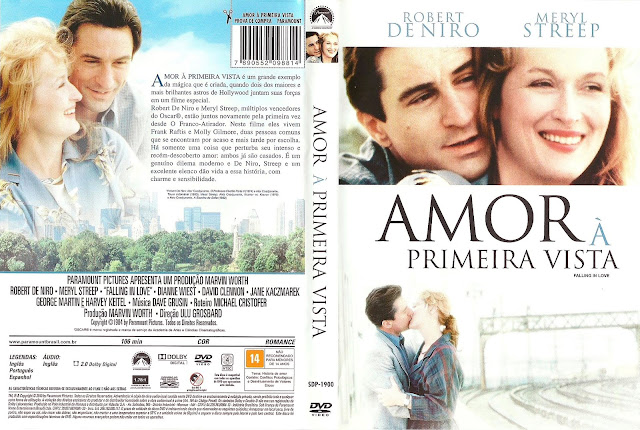 Capa DVD Amor à Primeira Vista