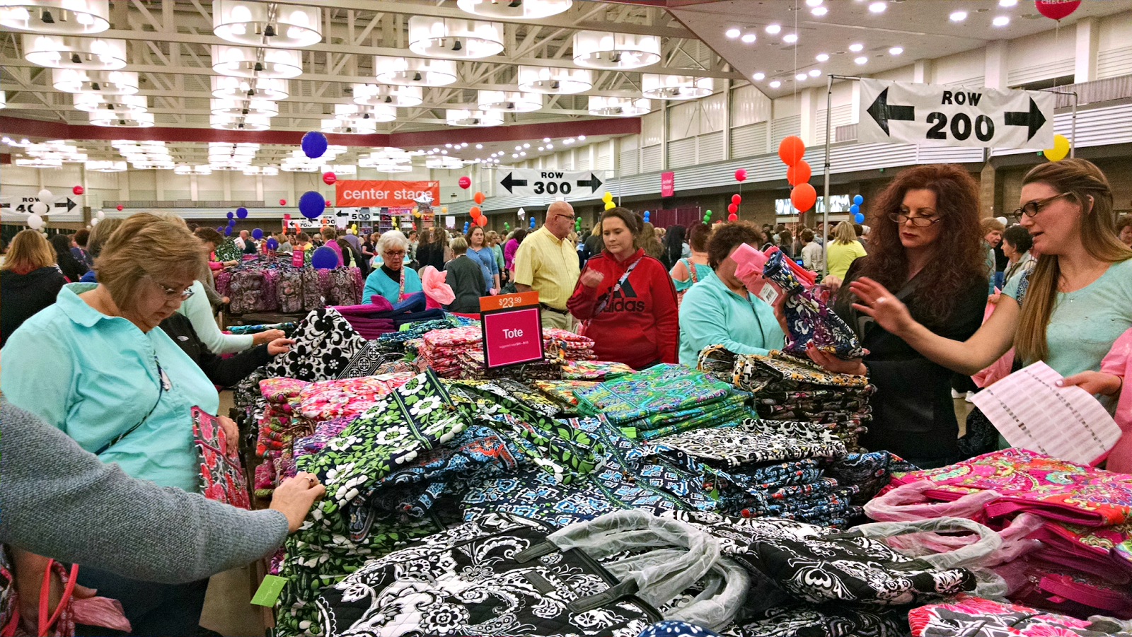 bfcbe28fe5ab The Vera Bradley Annual Outlet sale is held every year in Fort Wayne