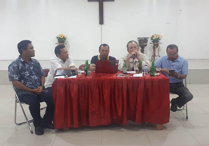 SHP Sibarani Br Silaen mewakili Purbatua sangat antusias dan berkomitmen bahwa Purbatua Sejabodetabek akan turut berkontribusi dalam hal pembiayaan Bonataon 2020 dengan menyumbangkan sejumlah dana minimal tujuh puluh juta rupiah