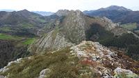 Peña Pagadin, vistas a la Sierra de Coronas
