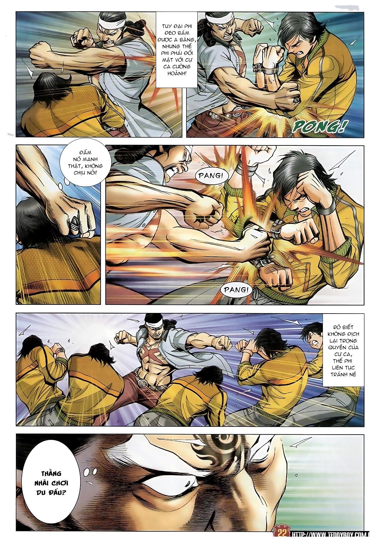 Người Trong Giang Hồ - Chapter 1552: Long Uy - Pic 20