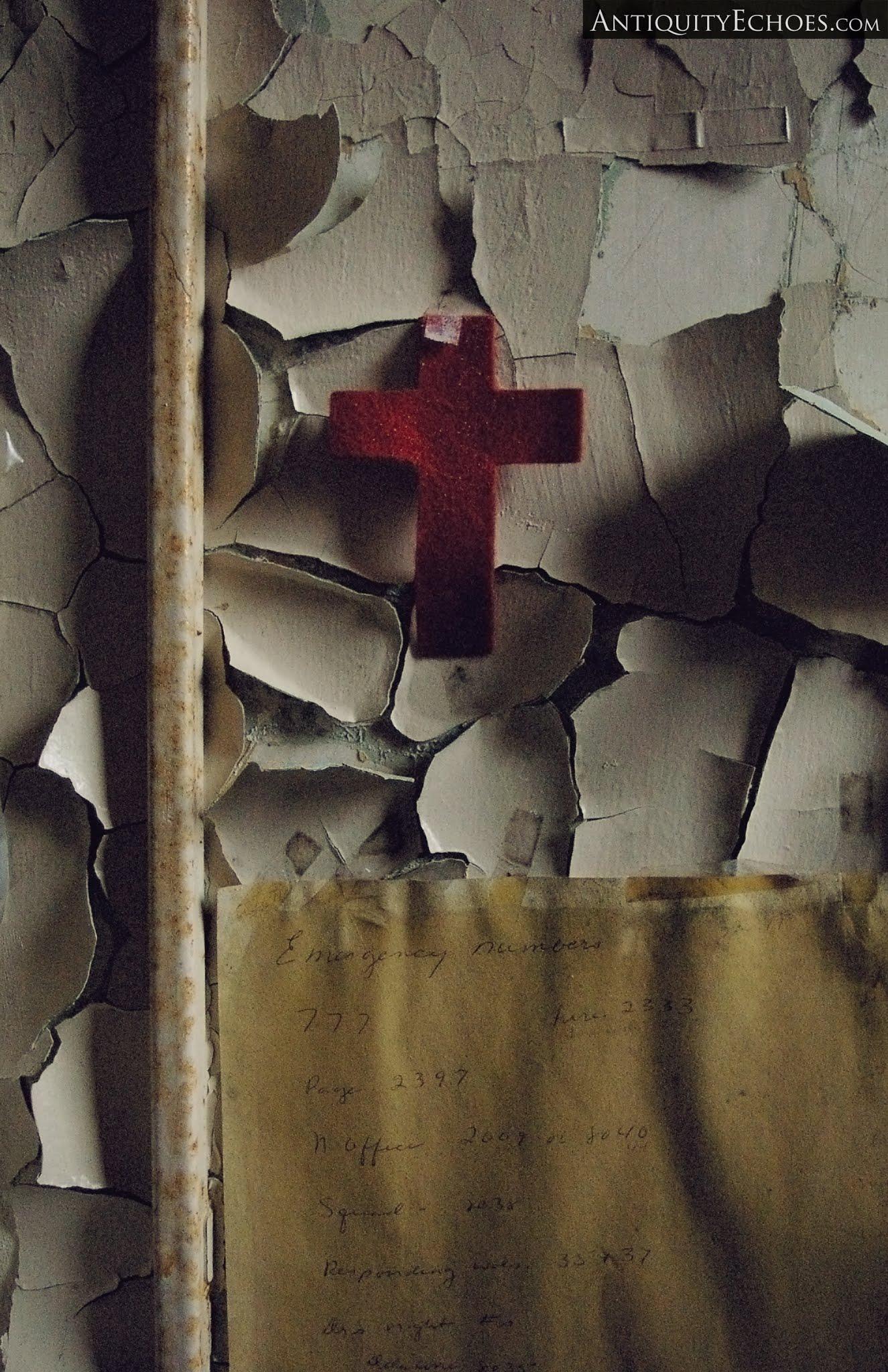 Overbrook Asylum - Crimson Cross