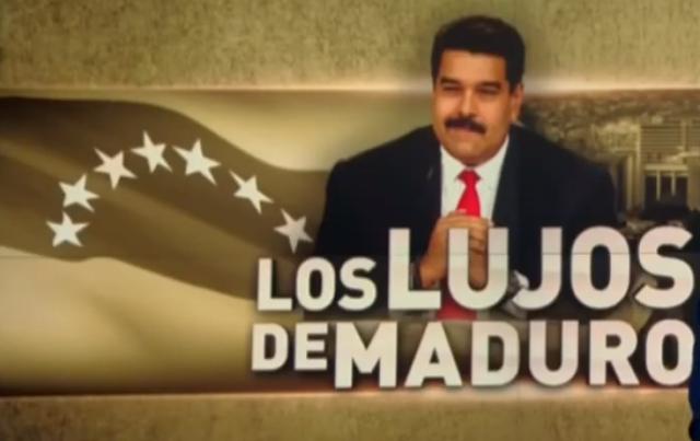 (VIDEO) Los multimillonarios gastos del genocida Nicolas Maduro y la familia del insepulcri Hugo Chavez