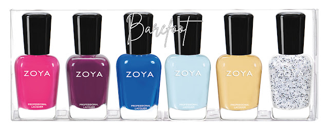 Zoya Barefoot Summer 2019 Collection Sampler B