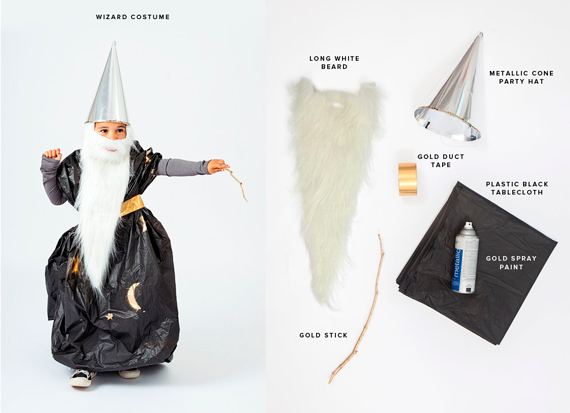disfraces halloween: mago