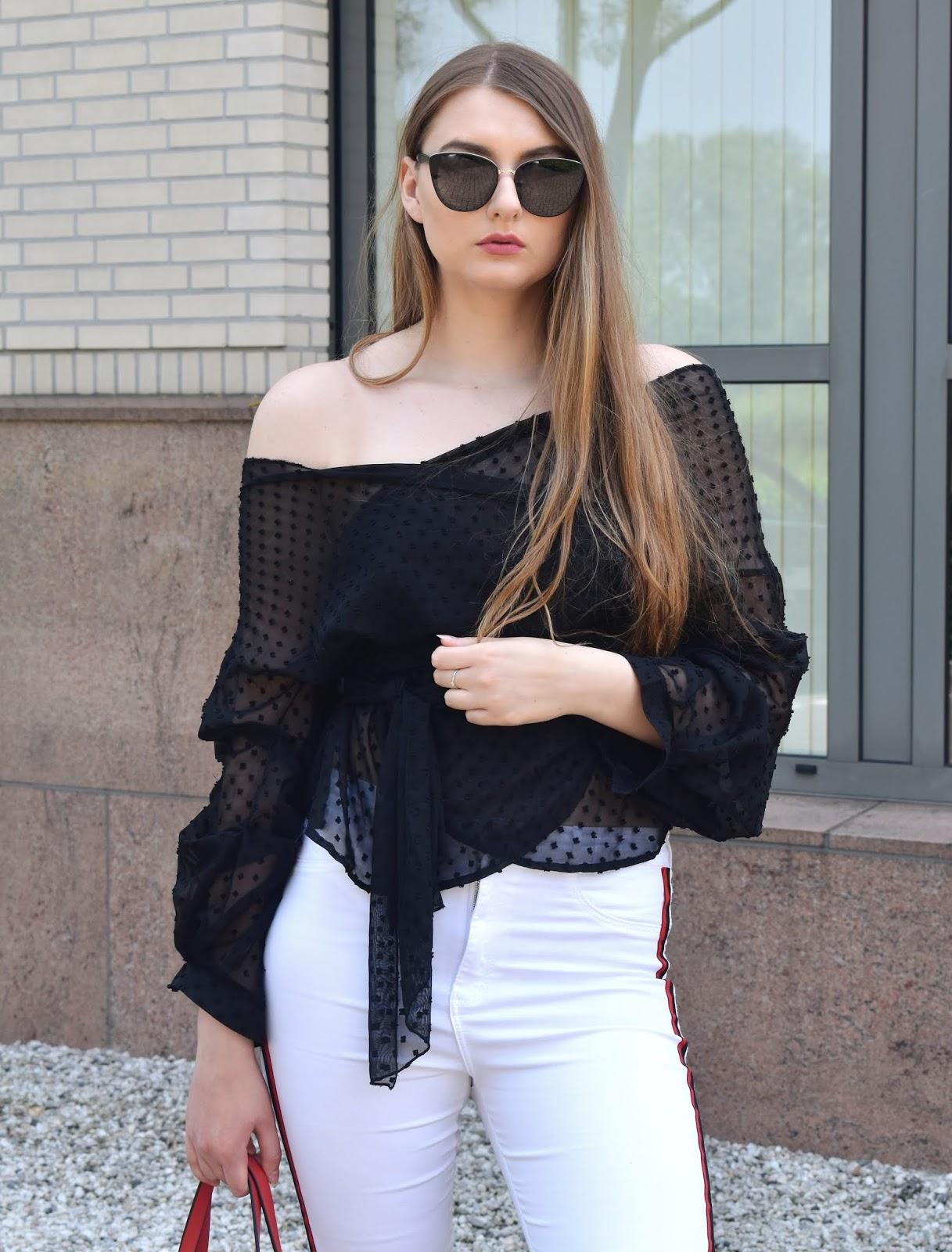 Białe spodnie wiosną-z czym nosić?