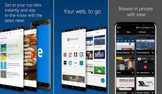 Browser Microsoft Edge Preview Kini Tersedia di Android