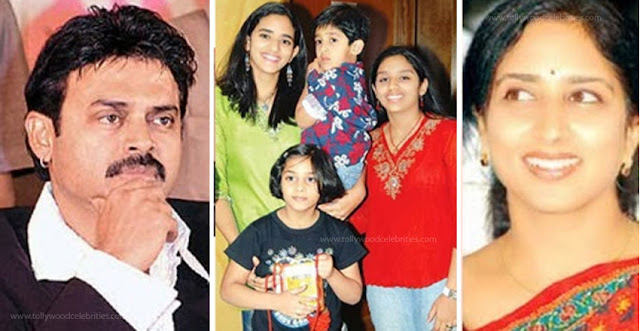 Venkatesh Wife Son Daughter's Profile Biography Family Photos