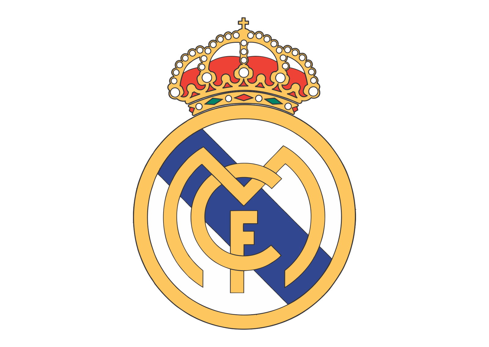 Real Madrid FC Logo Vector ~ Format Cdr, Ai, Eps, Svg, PDF